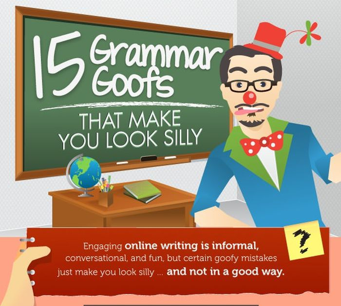 Grammar Goofs that Make You Look Silly