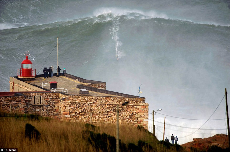 Surfer Catches the Biggest Wave Ever