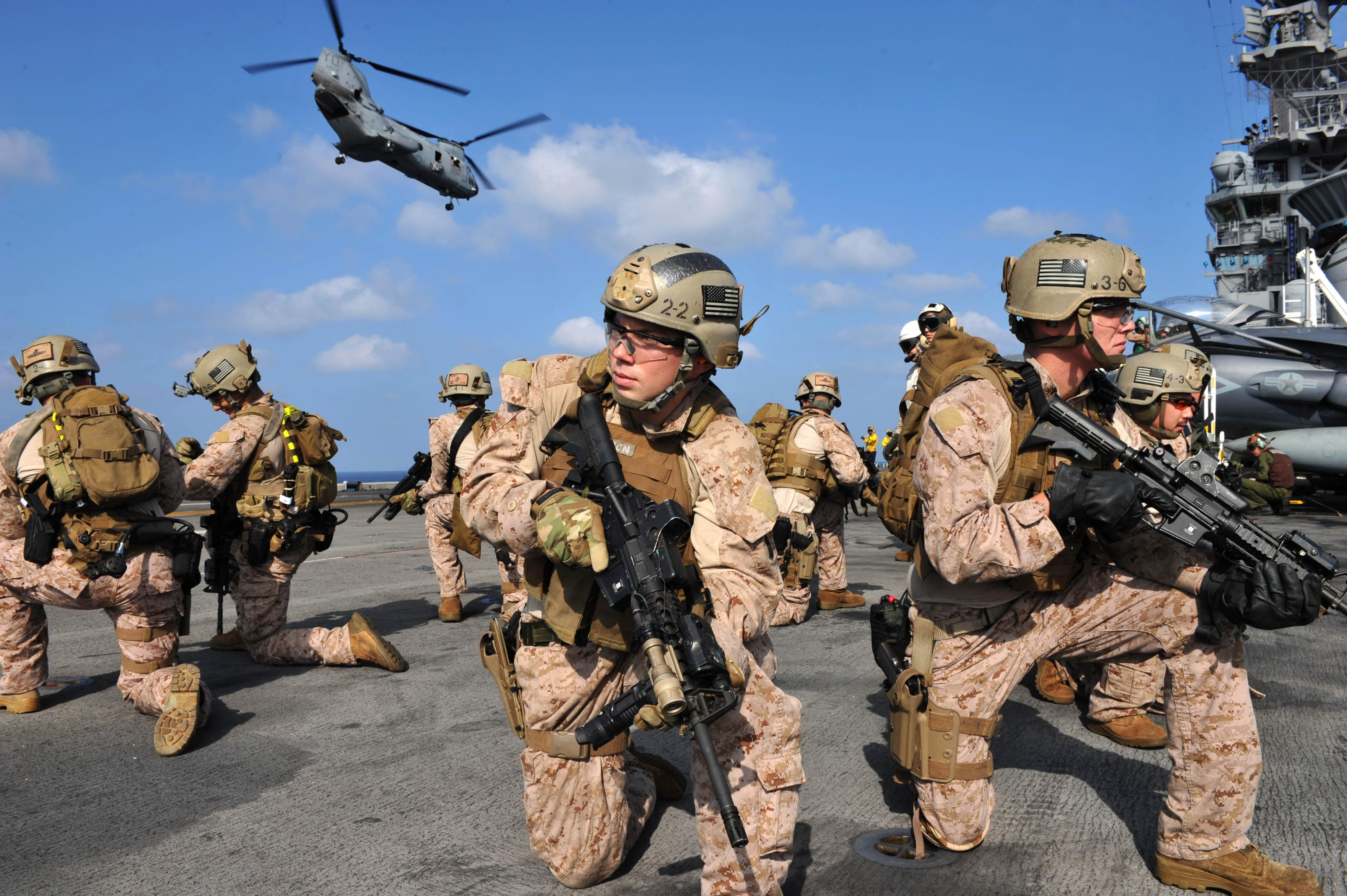Pentagon to Lay Off 20000 Marines!