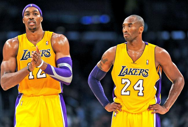 Dwight Howard and Kobe Bryant are totally on the same page!!!