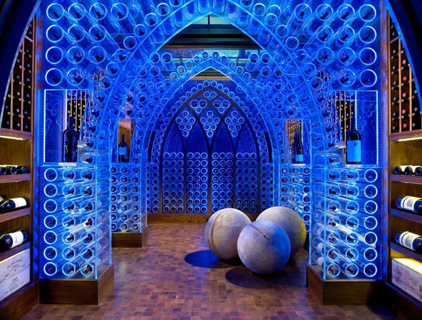 An Awesome LED Wine Cellar You'll Wish You Owned