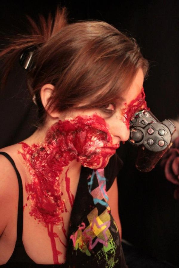 Zombie Gamer Make-up