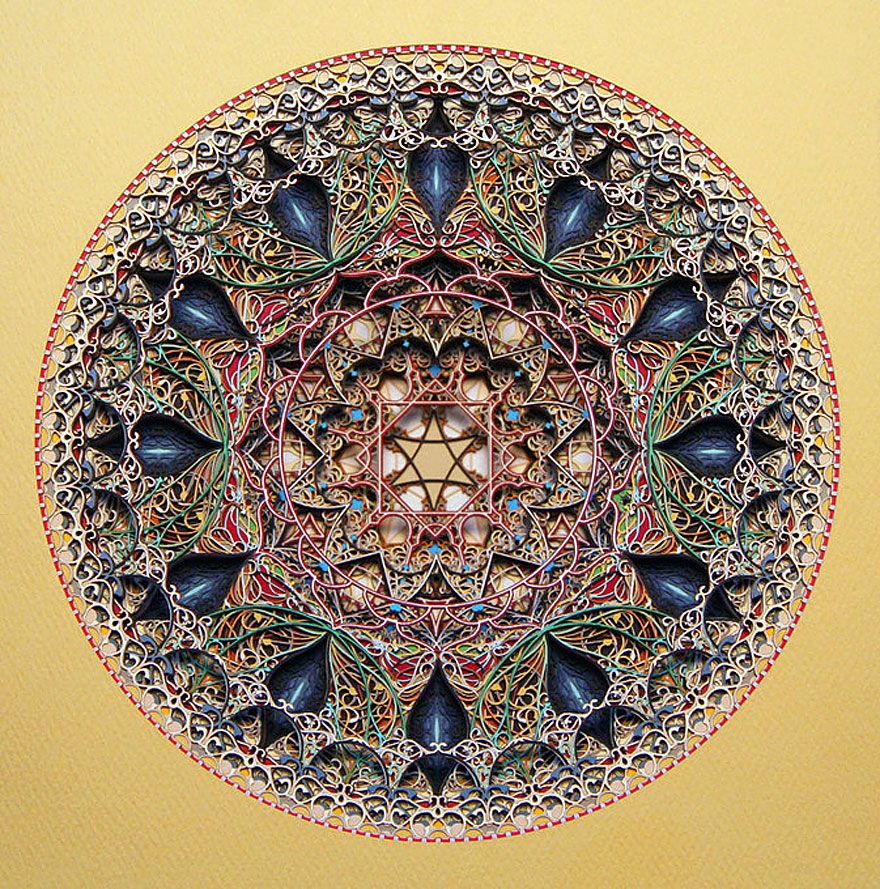 Incredible Laser Cut Paper Art by Eric Standley