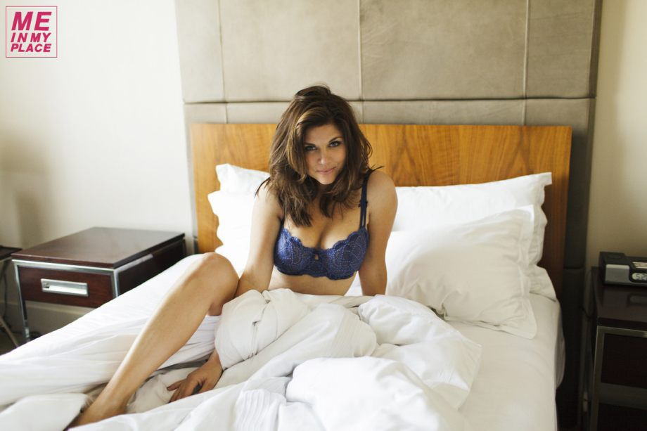 Tiffani Thiessen. Sexy Spread with Michael Edwards