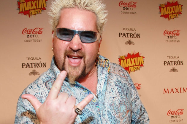 Terrifying Guy Fieri GIFs to Ruin Your Day