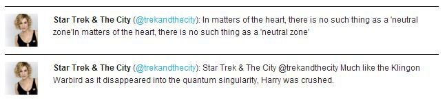 The Best 'Star Trek & The City' Tweets