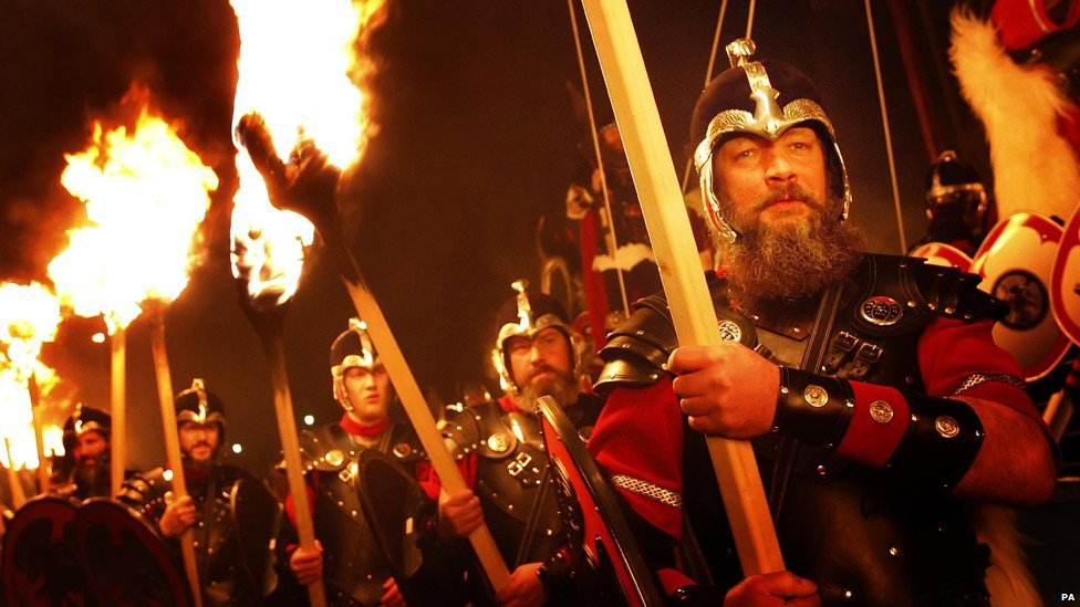 "The Incredible Viking Festival ""Up Helly Aa"" In Scotland!"