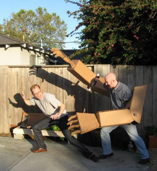 Awesome things made out of cardboard!