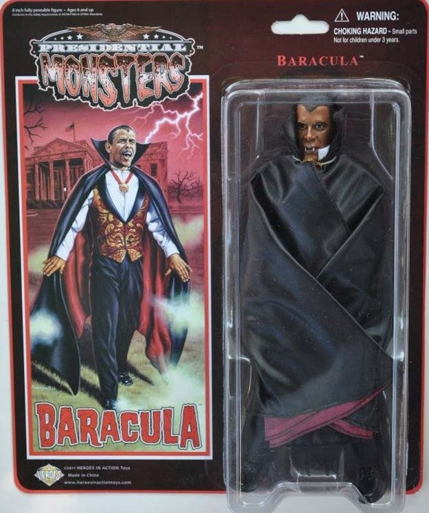 """Presidential Monsters"" Are The Greatest Action Figures Ever"