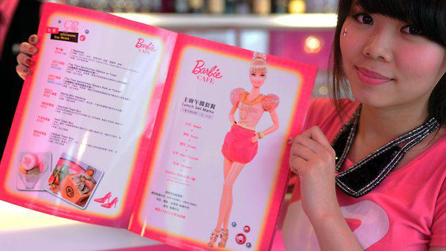 Barbie Has Her Own Restaurant!
