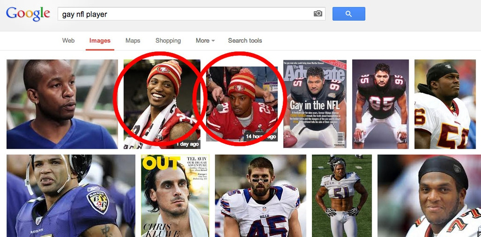 "Something Amazing Happens When You Google ""Gay NFL Player"""