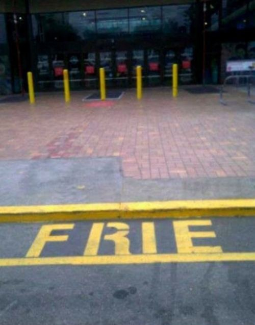 You Had One Job! Seriously!