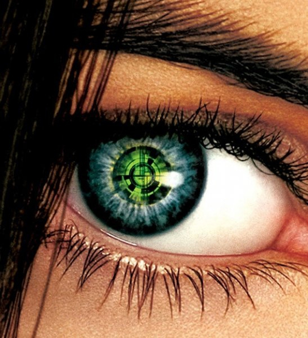 Cool Trippy Contact Lenses.