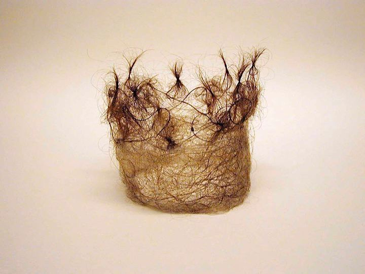 Creative Human Hair Art.