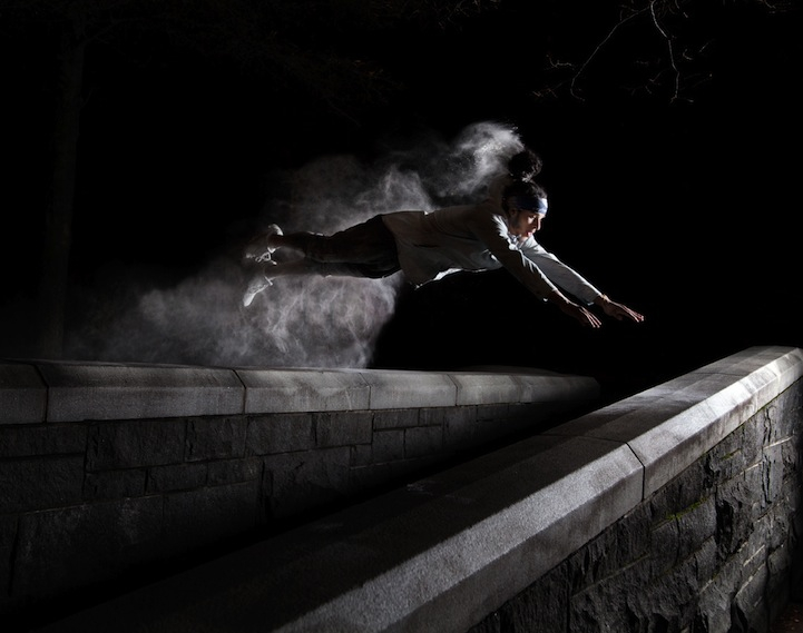 Powerful Acrobatic Portraits of Parkour in Motion