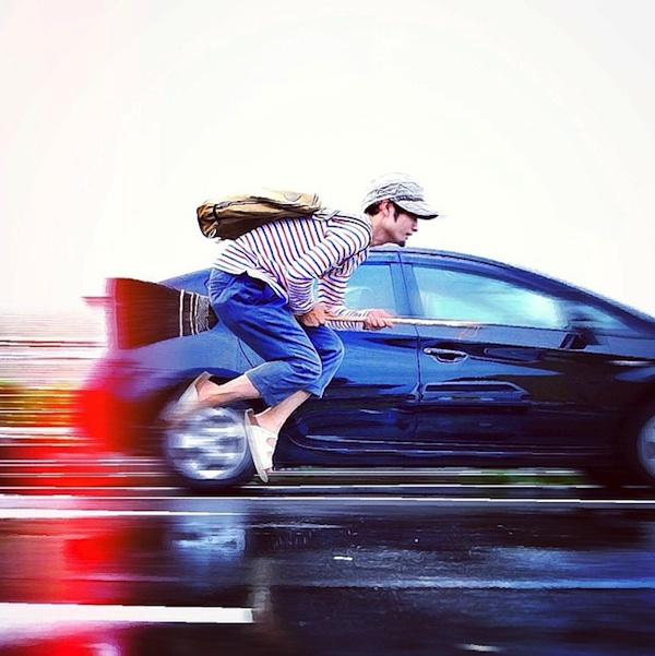 Halno: The Hipster Who Loves to Levitate