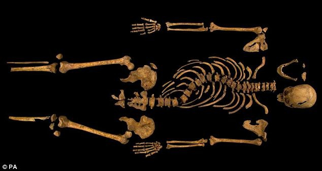Richard III body has been found under a car park in Leicester