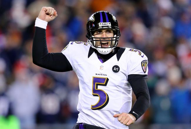 Every female agrees that Joe Flacco is more attractive than Kappernick