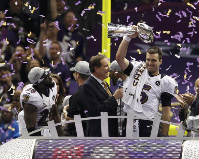 But in the end the Ravens won