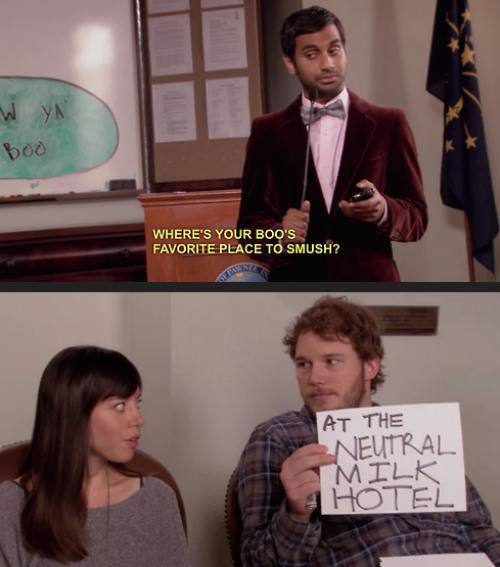 Parks And Recreation Party Time!
