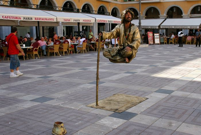 Levitating People