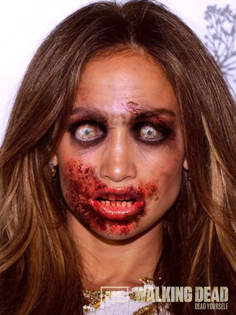 Celebrities As Zombies