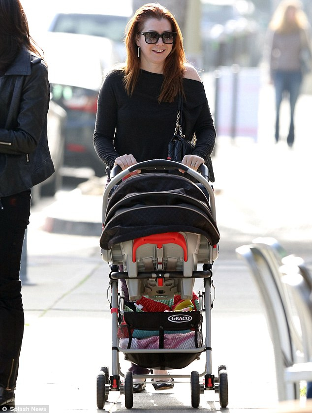 Alyson Hannigan coos over daughter Keeva