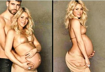 First Picture of Shakira's Son