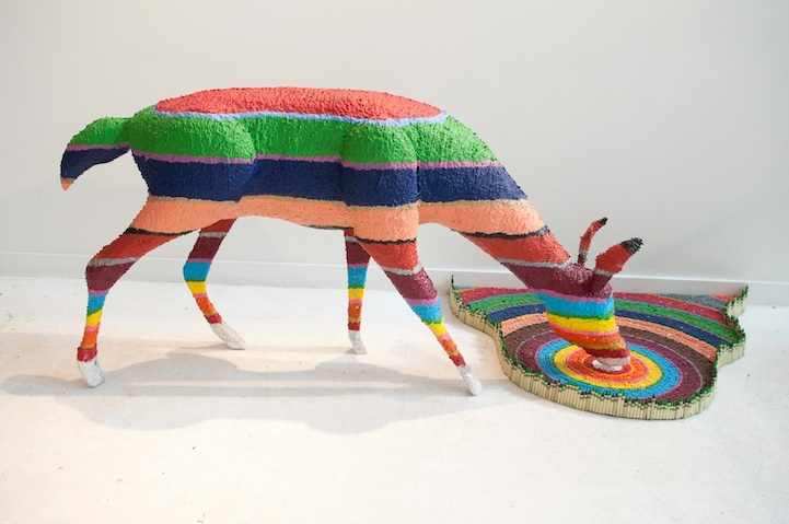 New Nature-Inspired Crayon Sculpture by Herb Williams