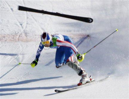 Skiier Lindsey Vonn Had a Bad Accident