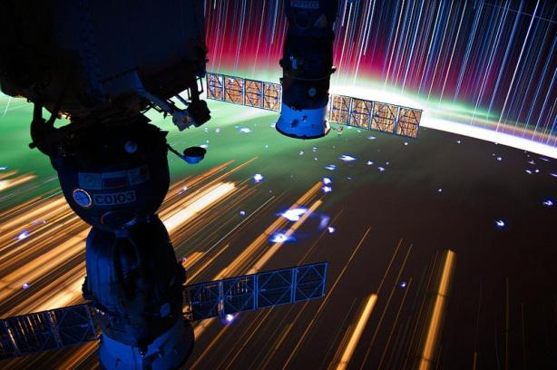 Star Trails, City Trails: Long Exposure Images from Space