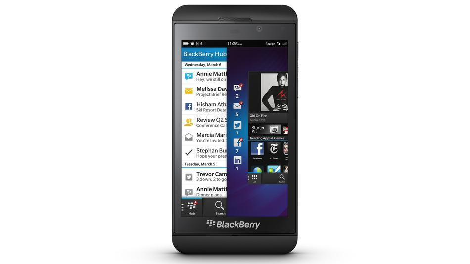 Through Review Of The New BlackBerry Z10 Smartphone!