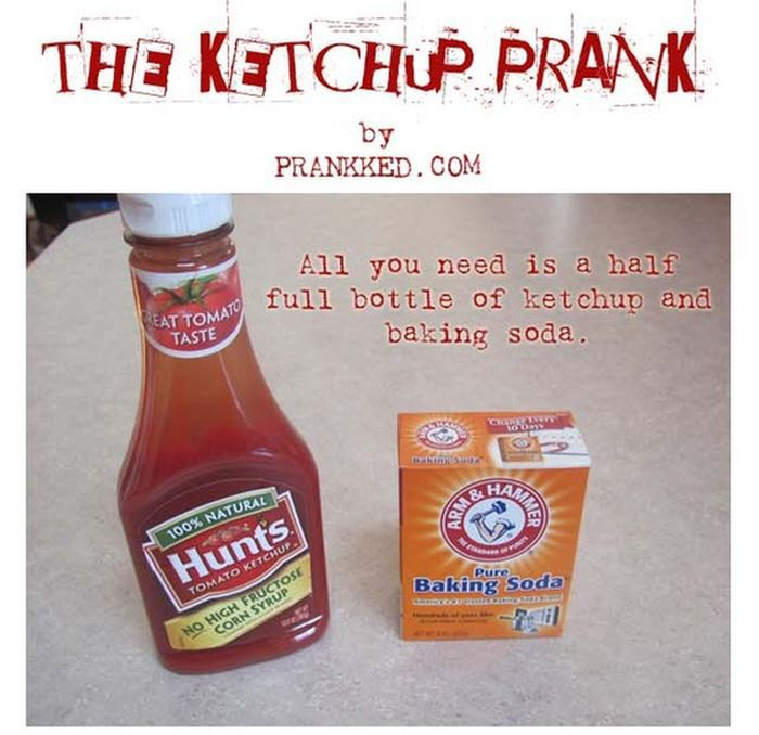 The Ketchup Prank