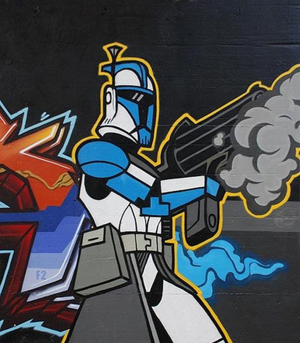 Star Wars Street Art