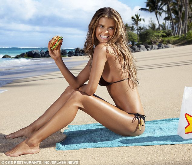 Models Do Eat Burgers