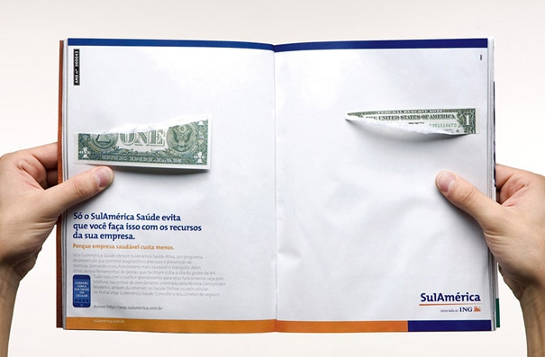 21 Creative Double Page Magazine Ads
