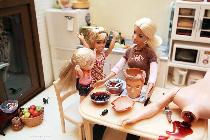 Barbie Goes On Murderous Killing Spree