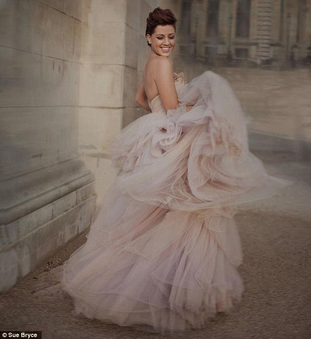 Cancer Patient  Poses for Stunning Fashion Shoot
