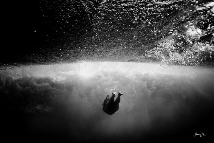 New Gorgeous Underwater Wave Photography by Sarah Lee