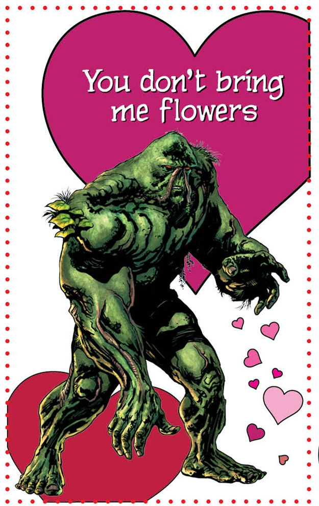 Punny Valentine's Day Cards From DC Comics