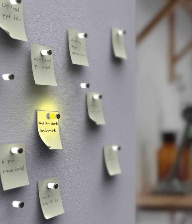 Electric Pin Board for Your Forgetful Mom