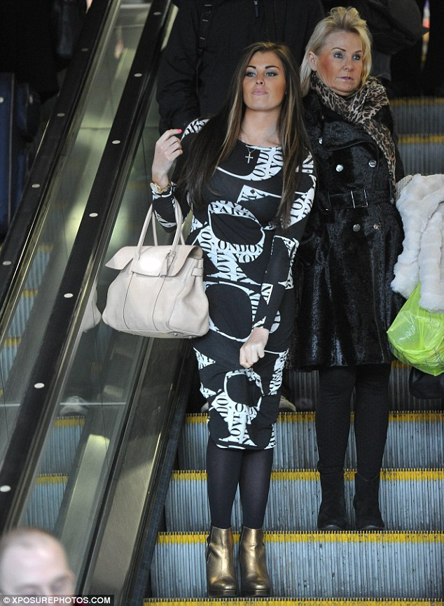 Jessica Wright's Weird Tan
