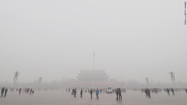 China Prays for Fresh Air