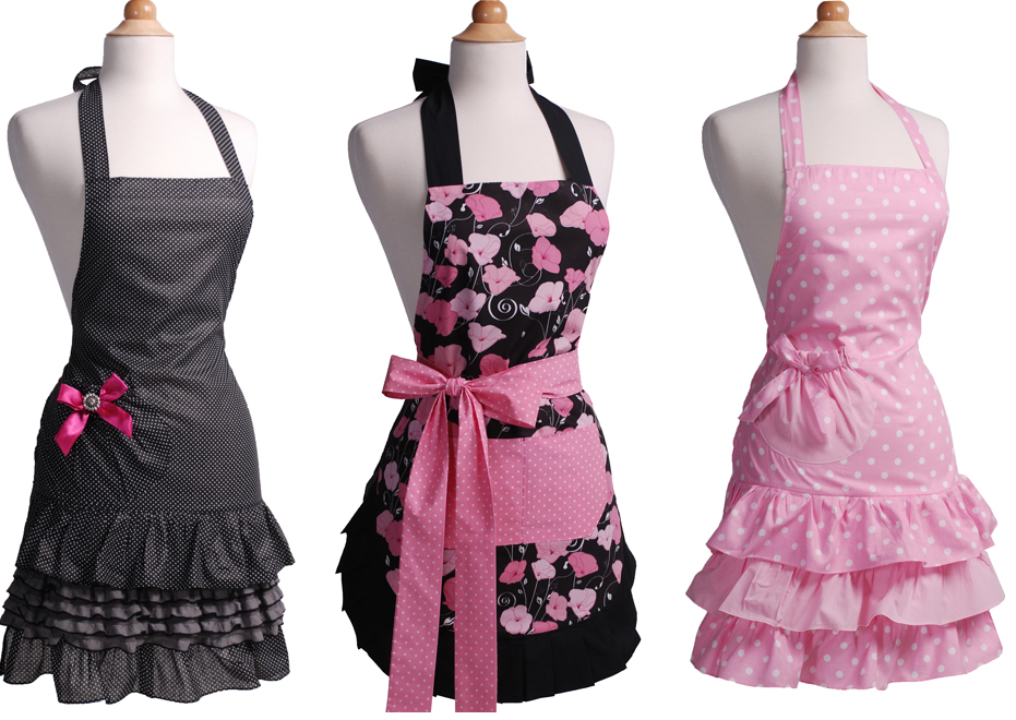 Sexy Aprons That'll Steam Up Your Kitchen Experience.