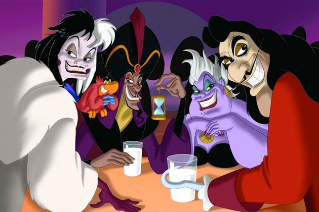 See the Faces Behind Disney's Greatest Villains