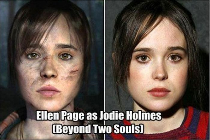Video Game Characters Models after Famous People