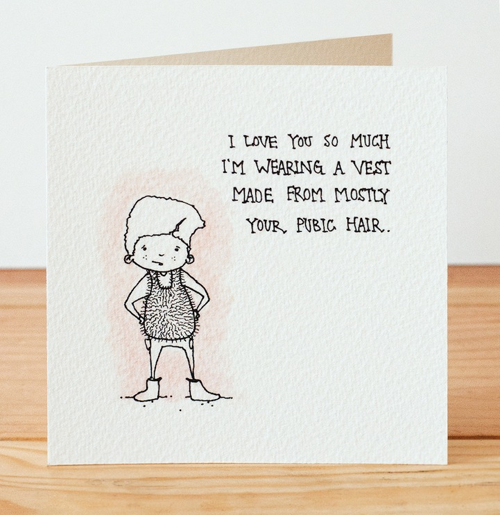 Hilariously Creepy Valentine's Day Cards