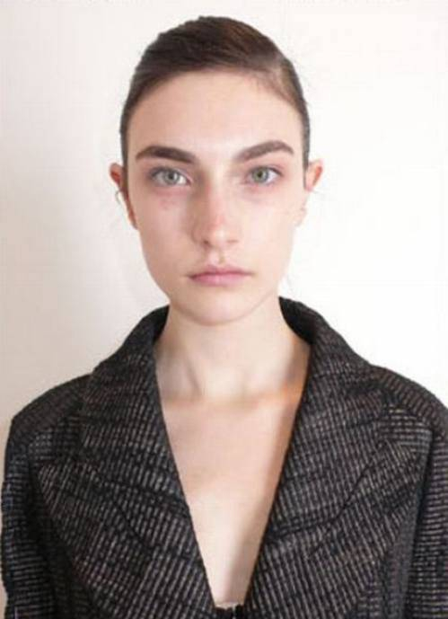 Louis Vuitton models without makeup