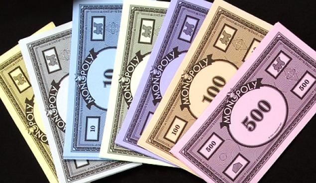 1) Parker Brothers prints roughly 50 billion dollars worth of Monopoly money each year.