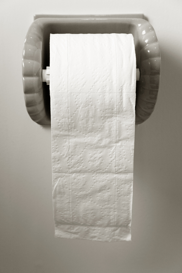 6) On average, there are 333 squares of toilet paper on each roll.